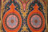 エジプト柄布 フリンジ付き 115×135  ⑶