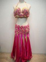 ●セール●エジプト製衣装 ピンクベージュ