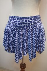 ●セール●ヒップスカート ブルー・ホワイト