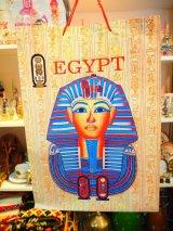エジプト製 手提げ袋Lサイズ ツタンカーメン